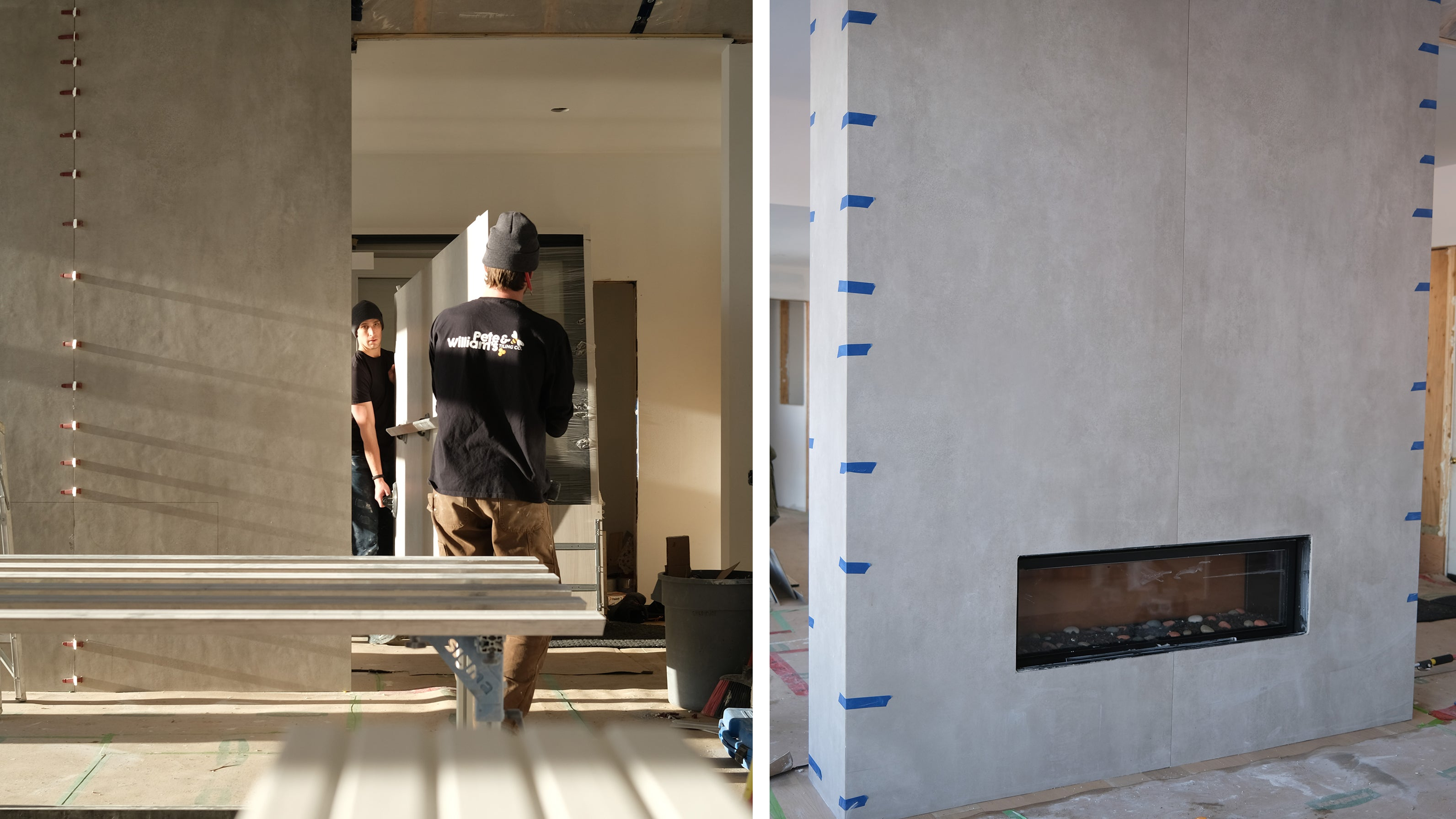 Cottage Fireplace remodel
