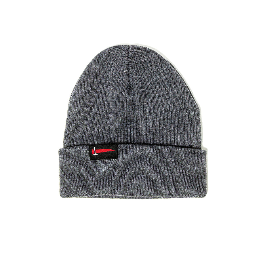 Charcoal Fine Knit Winter Hat