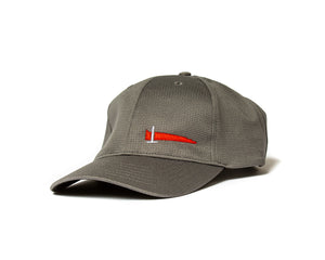 Gray Athletic Hat