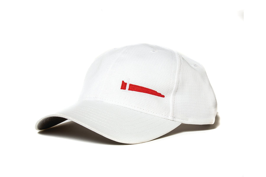 White Athletic Hat