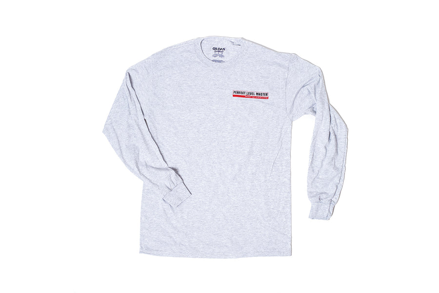 Perfect Level Master Gray Long Sleeve T-Shirt