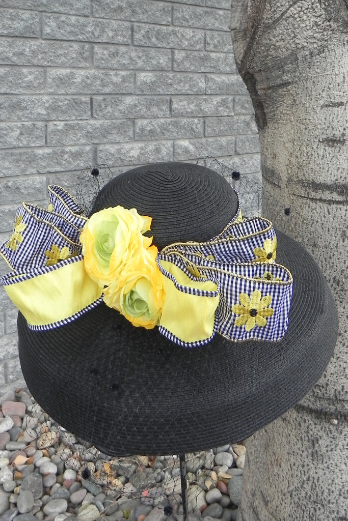 Bee-Dazzled II – Derby Hat