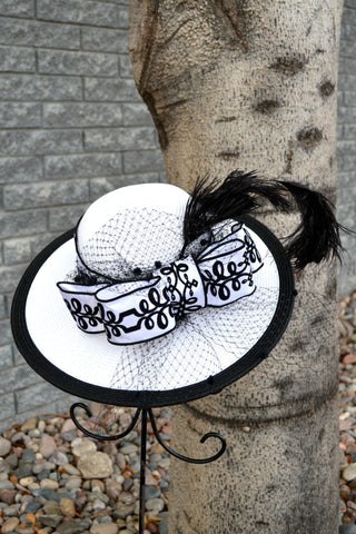 Harlow- Derby Hat
