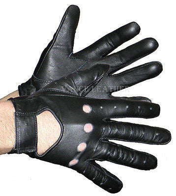 VL440 Vance Leather Hook and Loop Driving Glove - Daytona Bikers Wear