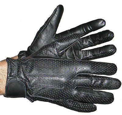 VL407 Vance Leather Perforated Driving Glove VL407 - Daytona Bikers Wear