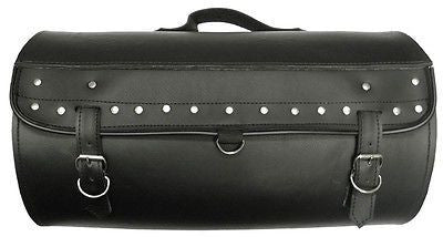VS376 Vance Leather Medium Studded Sissy Bar Roll Bag - Daytona Bikers Wear