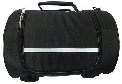 VS362 Vance Leather Small Textile Sissy Bar Roll Bag - Daytona Bikers Wear