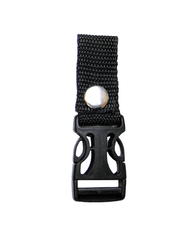 "VA297 Quick Release Deluxe 1"" with Black Strap - Daytona Bikers Wear"