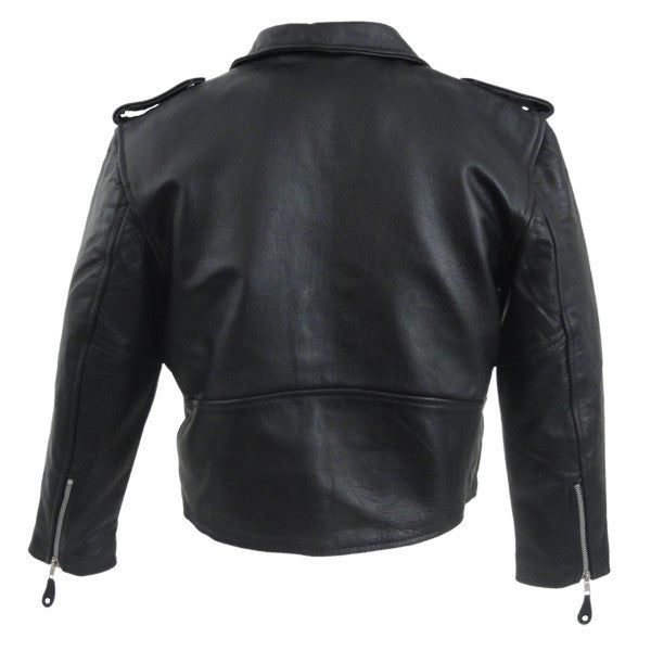 VK515 Kids Motorcycle Leather Jacket - Daytona Bikers Wear