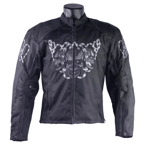 HMM1501 Armored Jacket with Reflective Skulls