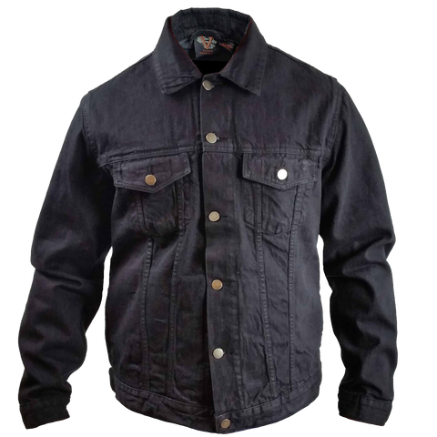 VB510 Men's Denim Button Front Jacket