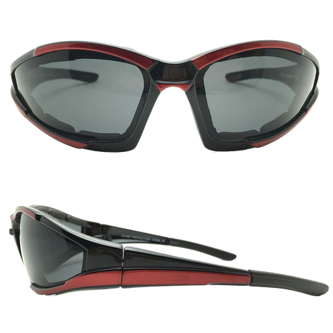 Dark Smoke Lens Motorcycle Sunglasses VE03 (various colors)