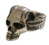 VJ1039 Stainless Steel Men's Life After Death Ring