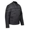 VL1558 Vance Leather Men's Cordura Jacket with Assorted Stripe