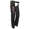 VL1881 Vance Leather Ladies Textile Chaps with Embroidery (various colors)