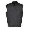 VL1914 Heavy Duty Textile Club Vest with Snaps And Zipper Closure