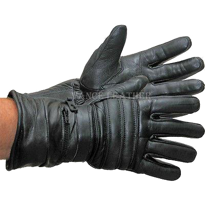 VL401 Vance Leather Insulated Lambskin Gauntlet Glove with Rain Mitt