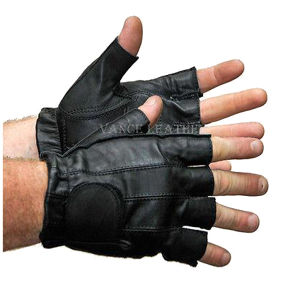 VL405 Vance Leather Gel Palm Shorty Glove