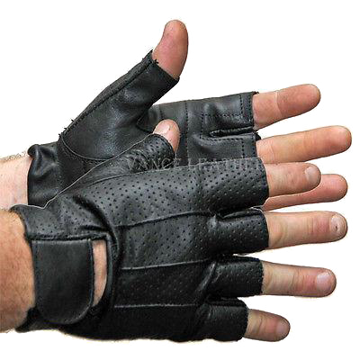 b7ffabcfa VL406 Vance Leather Perforated Shorty Glove VL406