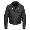 Vance Leather VL509 Men's Pistol Pete Premium Leather Jacket with Lower Padded Back