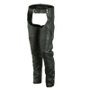 VL812S Vance Leather Basic Deep Pocket Leather Chaps