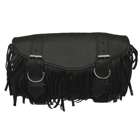VS117H Tool Bag 2-Strap Square with Fringe and Hard Shell