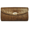VS123DB Distressed Brown 10 Stud Tool Bag