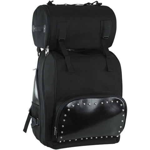 VS1354 studded sissy bar bag