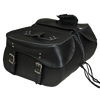 VS216 Vance Leather 2 Strap Slant Design Saddle Bags