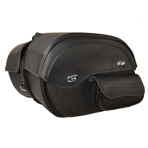 VS230 External Pocket Deluxe Throwover Saddlebags