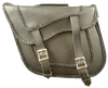 VS232 Black Braid Saddle Bag 13X10X6