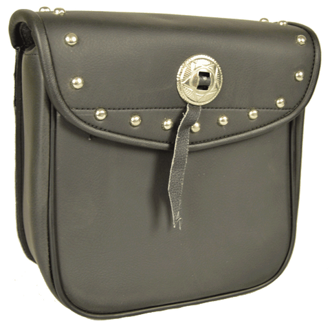 VS302 Vance Leather Small Studded Sissy Bar Bag