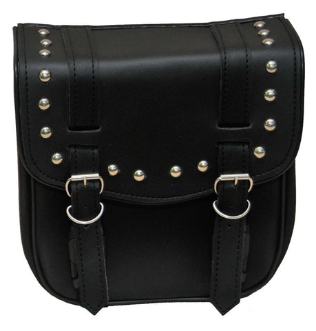 VS305 Vance Leather Small 2 Strap Studded Sissy Bar Bag