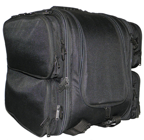 VS342 Vance Leather Textile Trunk Pack with 4 Side Pockets - Daytona Bikers Wear