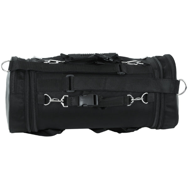 VS380 Expandable Roll Bag with Faux Leather Trim - Daytona Bikers Wear