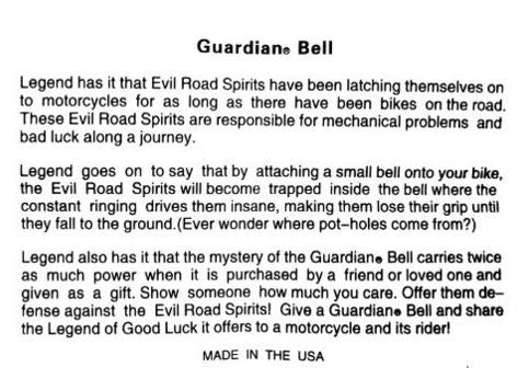 Guardian Bell Biker Angel