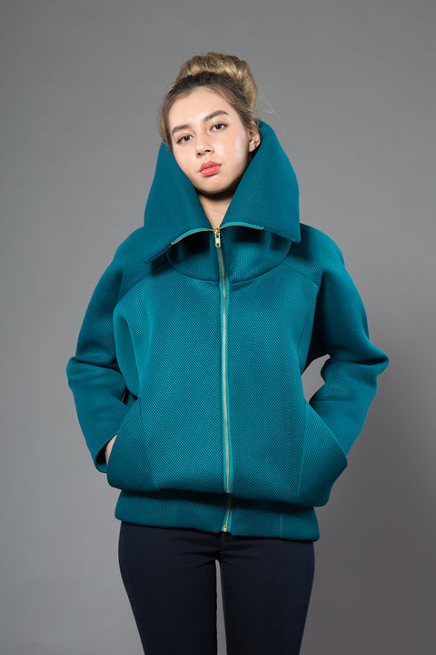 Teal Three Way Jacket