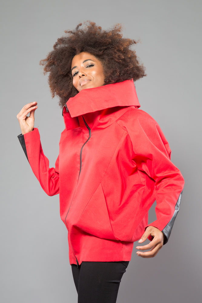 OUT OF STOCK Red Three Way Jacket