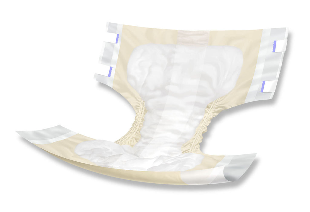 "ComfortAire PM Extended Wear Briefs - 32""-42"" - 72 Each / Case"