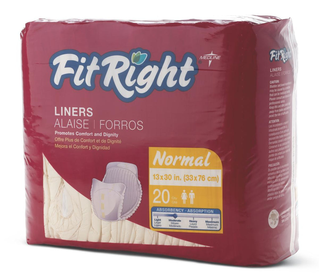 "FitRight Liners - Yellow - 13 X30 (13"" X 30"") - 80 Each / Case"