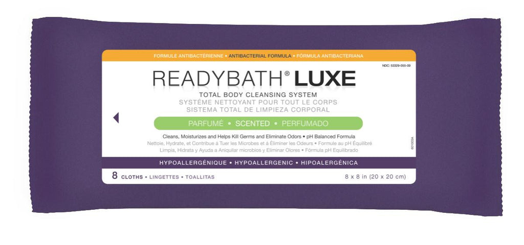 ReadyBath LUXE Total Body Cleansing Heavyweight Washcloths - 1 Pack / Pack