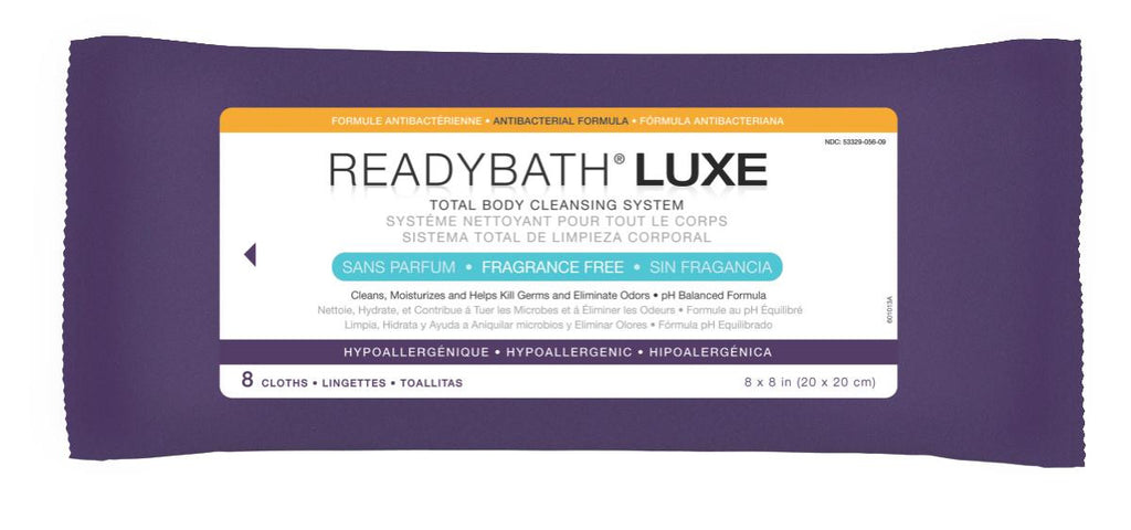 ReadyBath LUXE Total Body Cleansing Heavyweight Washcloths - 24 Pack / Case