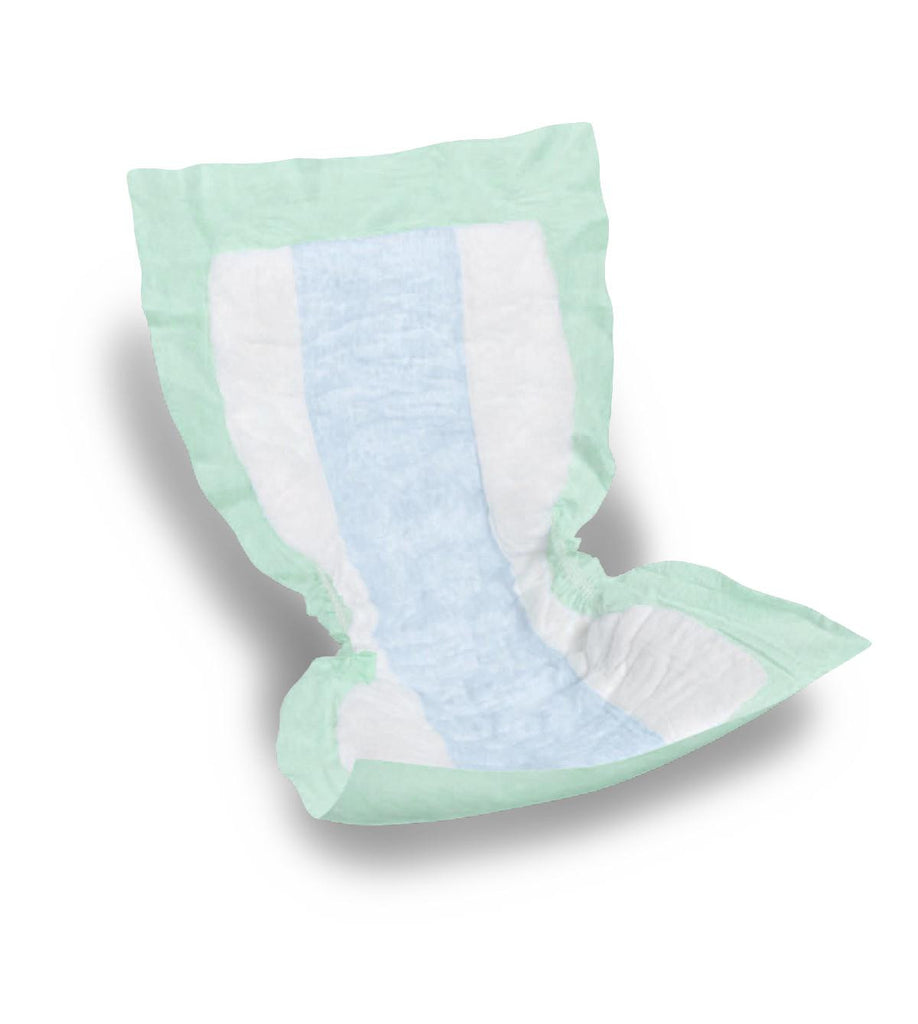 "Protection Plus Incontinence Liners - Green - 13.5"" X 28"" - 72 Each / Case"