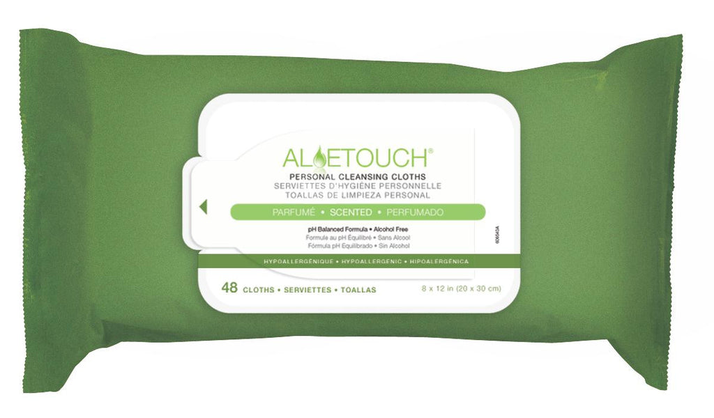 Aloetouch Personal Cleansing Wipes - 576 Each / Case