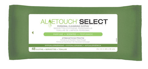 Aloetouch SELECT Premium Spunlace Personal Cleansing Wipes - 576 Each / Case