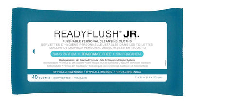 ReadyFlush Biodegradable Flushable Wipes - 960 Each / Case