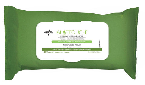 Aloetouch Personal Cleansing Wipes - 6 Pack / Case