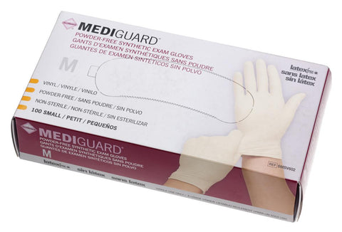 MediGuard Synthetic Exam Gloves  - Cream