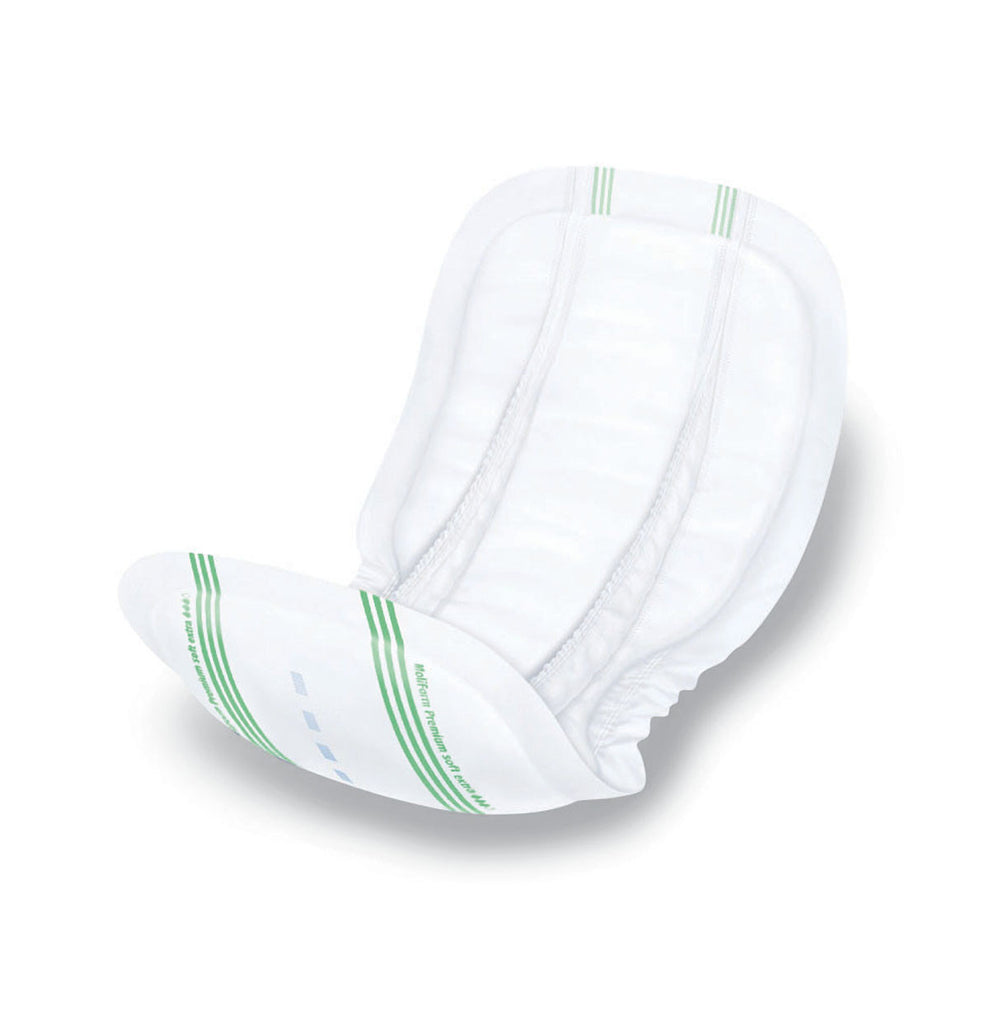 "MoliForm Soft Incontinence Liners - Green - 24.5"" X 13"" - 120 Each / Case"