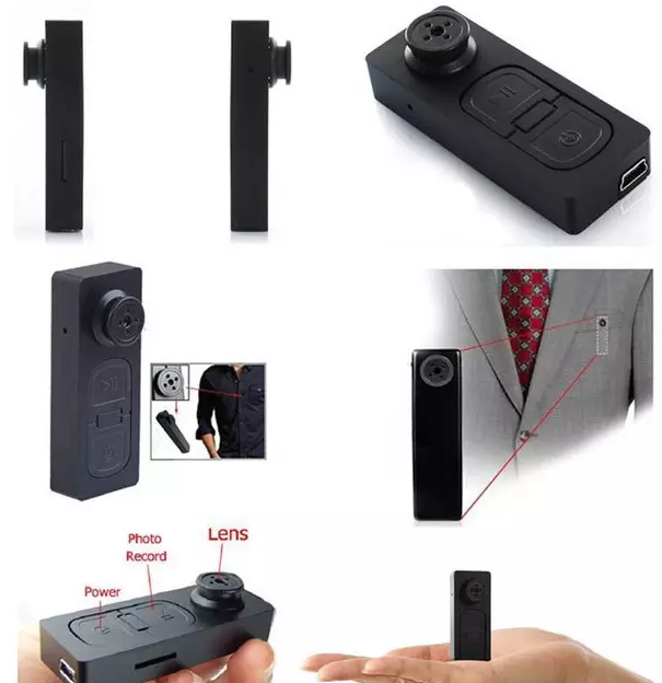Super Spy Button Camera - Ladys Jewels & More